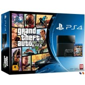 Console Ps4 Noire [500 Go] Pack Grand Theft Auto V