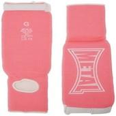 Metal Boxe Prot�ge-Tibias/Pieds Rose Taille Xs