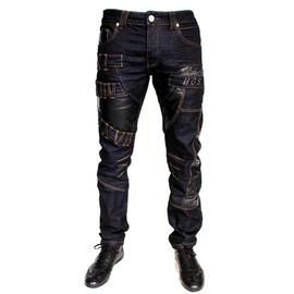 Jean Fashion Homme Men Neuf Toute Taille Japan Dg Star Kosmo Cipo Simil Cuir New