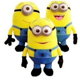 Peluche Minion ( Lot De 3 ) - 27 Cm