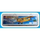 Pipper J-3 Club Great Planes Kit Tout Bois Semi Maquette Au Vol Relax