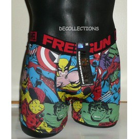 Boxer Freegun Super Heros Marvel Neuf