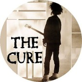 Badge Porte Cl� D�capsuleur Rond 56 Mm The Cure