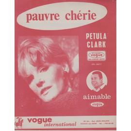 PETULA CLARK PARTITION PAUVRE CHERIE