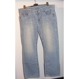 Jean Bleu Homme Marque True Religion Taille 38 Usa � 48 Fr