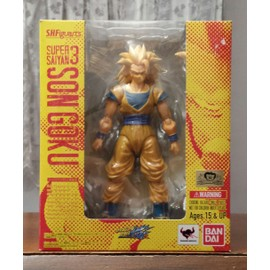Dragon Ball Z Super Saiyan 3 Son Goku Sh Figuarts Limited Edition Tamashii Japan