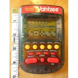Yahtzee Electronique Mb
