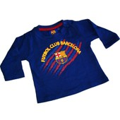 T-Shirt B�b� Bar�a - Collection Officielle Fc Barcelone - Blason Maillot