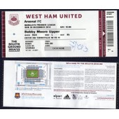 Ticket D'entr�e Billet Football Match West Ham United Vs Arsenal Fc 28/12/2014