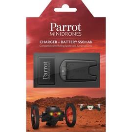 Chargeur De Batterie + Batterie Suppl�mentaire Rolling Spider Et Jumping Sumo