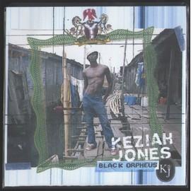 KEZIAH JONES BLACK ORPHEUS PLV + CD 5TITRES COLLECTOR