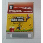 New Super Mario Bros 2 3ds - Code D'activation