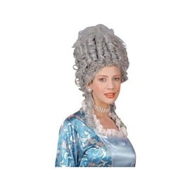 Perruque Reine Marie Antoinette Luxe - Grise