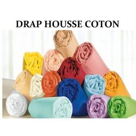 Drap Housse 140x190 57 Fils100% Coton Promotion