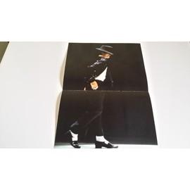 poster michael jackson 23 x 36 cm en exellent etat