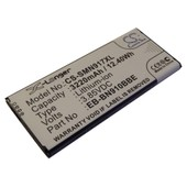 Batterie Li-Ion Vhbw 3220mah (3.85v)Pour Netbook Pad Tab Tablette Samsung Galaxy Note 4,Sm-N910a, Sm-N910c, Sm-N910fd, Sm-N910fq.Remplace: Eb-Bn910bbe