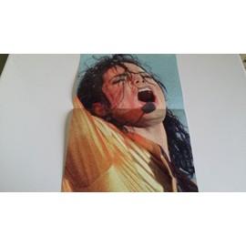 poster michael jackson 24 x 37 cm en exellent etat