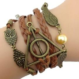 Bracelet Harry Potter Infini Karma Infinity Perle Multi Brins