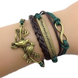 Bracelet Infini Infinity Karma Bresilien Amiti�