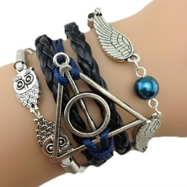 Bracelet Infini Infinity Hunger Games Harry Potter