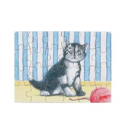Mini-Puzzle Animaux Chat 2