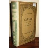 Fables - Nouvelle �dition Par R. Radouant de La Fontaine