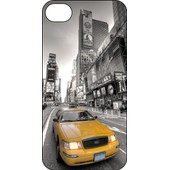 Coque Iphone 4 4g 4s Personnalis�e Taxi New York - Ref: 567