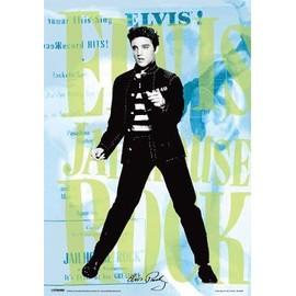 Elvis Presley - Jailhouse rock (le rock du bagne) - Poster 3D Lenticulaire - Licence - Pyramide 2010