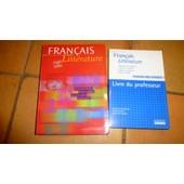 Francais Litterature Livre Du Professeur Pas Cher Ou D