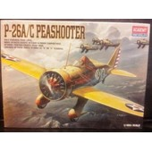 P-26a/C Peashooter-(Limited �dition Maquette Avion)(1/48)(Academy)(Us).