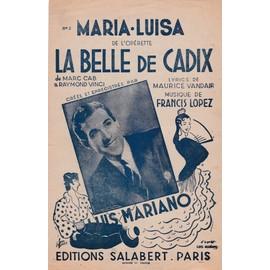 Maria Luisa (Luis Mariano)