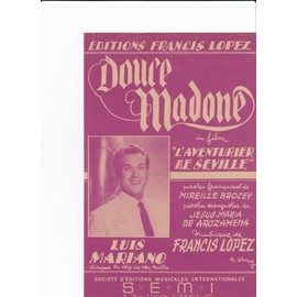 Douce Madone (Luis Mariano)