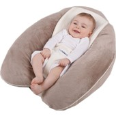 Coussin D'allaitement Multirelax + Jersey Coton - Ficelle / Taupe - Candide
