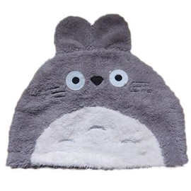 Super Bonnet Totoro Pikachu Taille Unique Enfant Adulte Mixte Gris Jaune Tout Doux Kawai Mignon Japon Cool Animaux T�te Oreilles Cosplay D�guisement Boutique Black Sugar