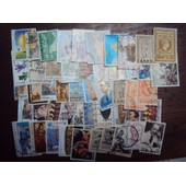 50 Timbres Oblit�r�s Grece