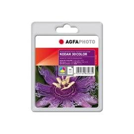 Agfaphoto - Couleur (Cyan, Magenta, Jaune) - Remanufactur� - Cartouche D'encre (�quivalent � : Kodak 30 ) - Pour Kodak Esp C310, C315