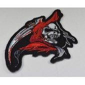 Patch Thermocollant Bikers Skul
