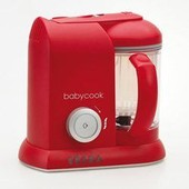 Cuiseur Mixeur Babycook Solo Rouge Beaba