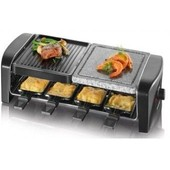SEVERIN 9640 Raclette grill pierrade 8 personnes