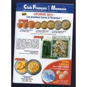 Catalogue Club Fran�ais De La Monnaie Janvier 2015 N� 184