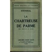 La Chartreuse De Parme - Deux Tomes En Un Volume. de STENDHAL