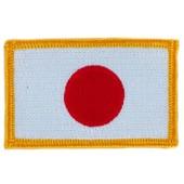 Patch �cusson Brod� Drapeau Japon Japonais Flag Thermocollant Blason