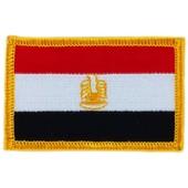 Patch �cusson Brod� Drapeau Egypte Egyptien Flag Thermocollant Insigne Blason
