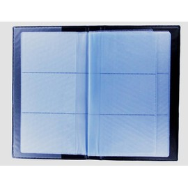 Porte Carte De Visite De Cr�dit Fid�lit� Etui Capacit� 120 Cartes Noir Plastique