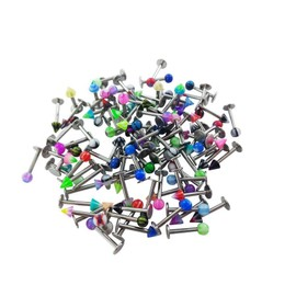 Lot Piercing Labret Levre Tragus Pierceur Grossiste Revendeur - Lot De 25