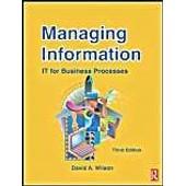 Managing Information de Wilson