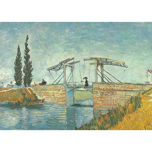 Le pont <strong>levis</strong> van gogh carte postale