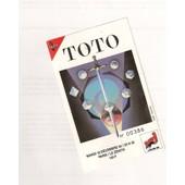 Ticket Et Programme Du Concert De Toto Paris Decembre 1990