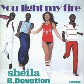 Sheila Cd 2 Titres You Light My Fire