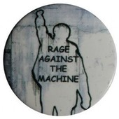 Badge Porte Cl� D�capsuleur 56 Mm Rage Against The Machine